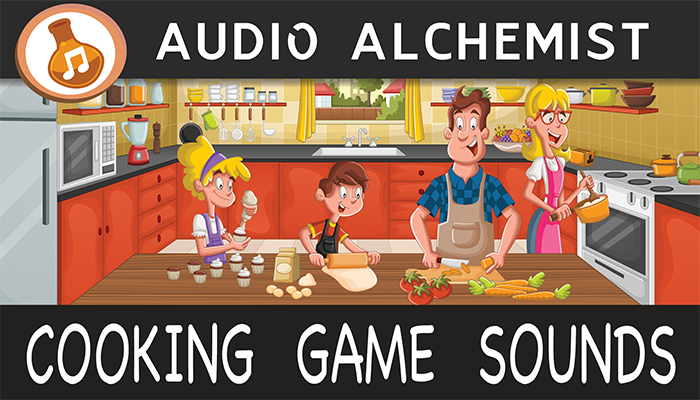 Cooking Game Sounds Pack