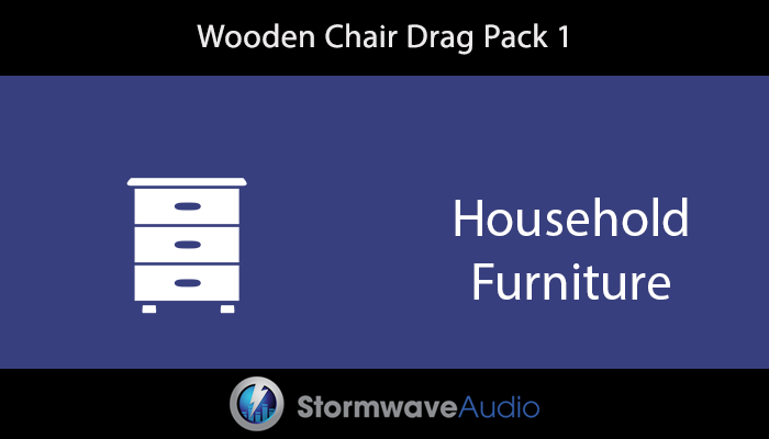 Wooden Chair Drag Pack 1