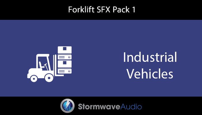 Forklift Sound Effects Pack 1