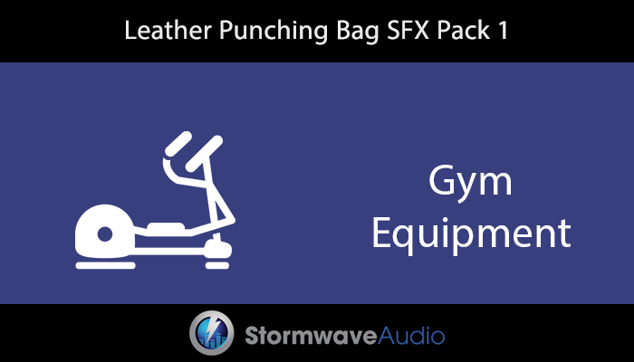 Leather Punching Bag SFX Pack 1