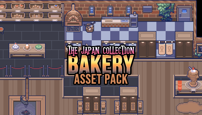Bakery Interior Game Assets