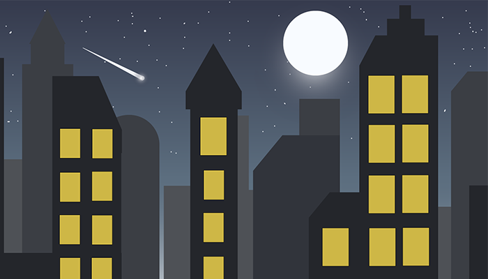 Night City 2d Background