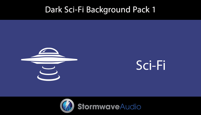 Dark Sci-Fi Background Pack 1