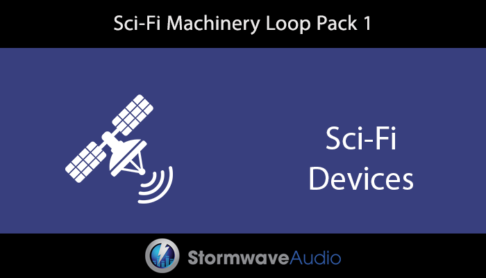 Sci-Fi Machinery Loop Pack 1