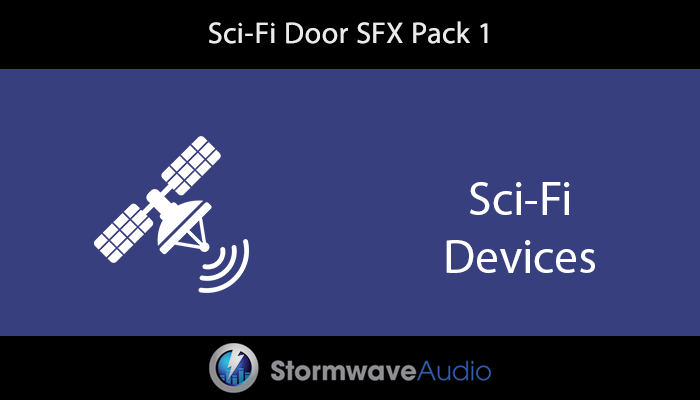 Sci-Fi Door Sound Effects Pack 1