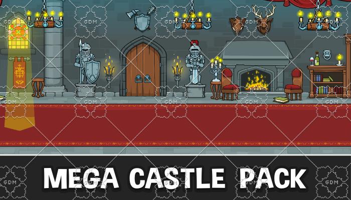 Mega castle pack