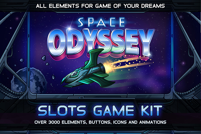 Space Odyssey Slots Game KIT