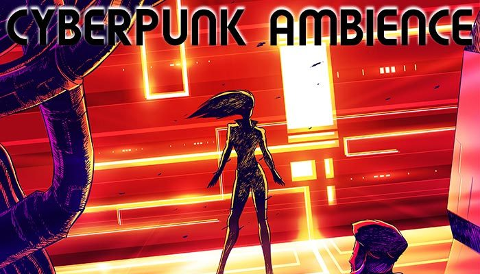 Cyberpunk Noir Ambient, Scene #1