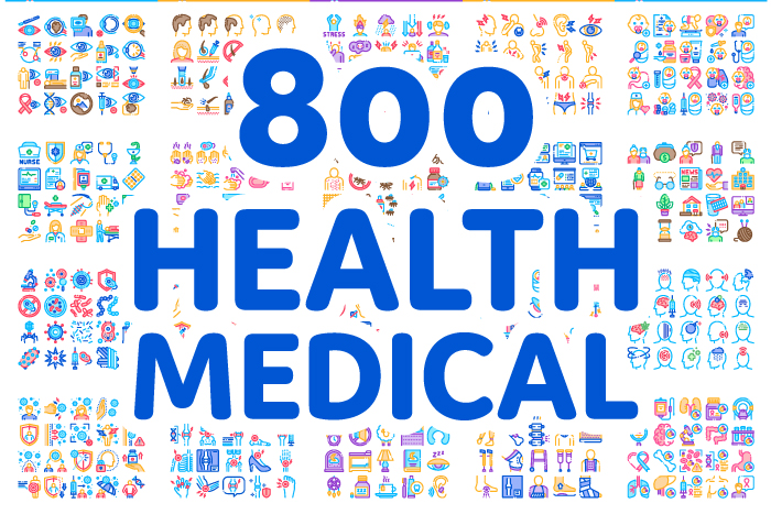 800 Health / Medical icons