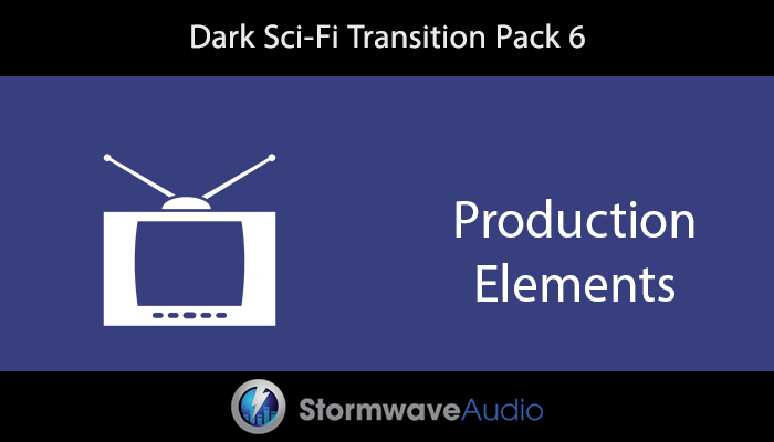 Dark Sci-Fi Transition Pack 6