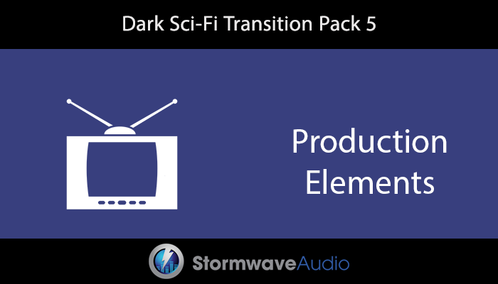 Dark Sci-Fi Transition Pack 5