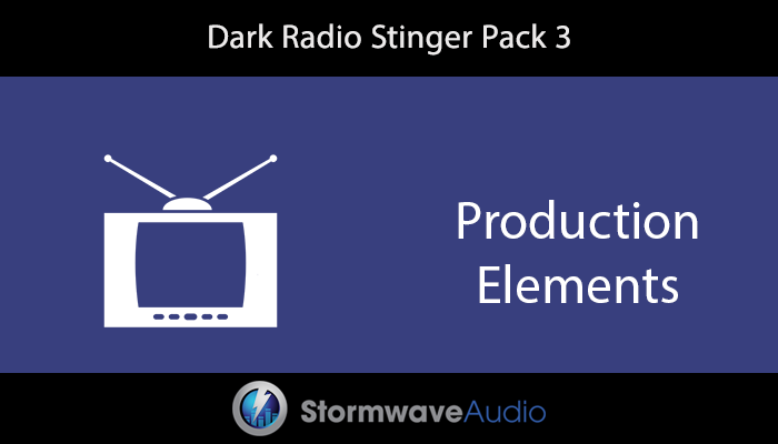 Radio Imaging Sound Effects Pack 3