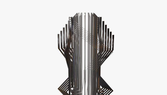 Retro Futuristic Sculpture