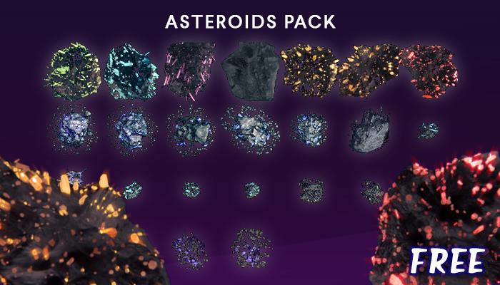 Sprites Asteroids [25]