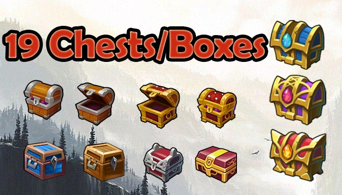 19 Awesome Chests/Boxes, beautiful chest
