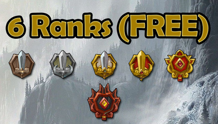 6 Ranks (FREE) Sword Rank