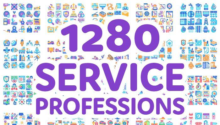 1280 Service / Professions