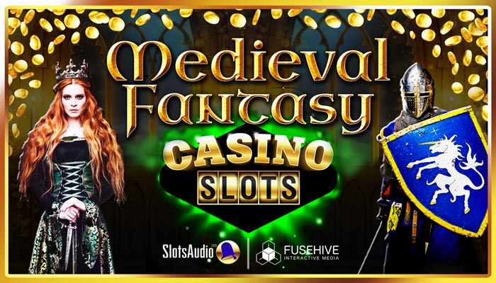 Medieval Fantasy Adventure Casino Slot Game Music & Sound Effects Library – Slots Audio Pack