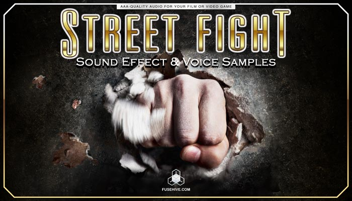 STREET FIGHTING SOUND EFFECTS LIBRARY and VOICE OVERS – Martial Arts Combat AAA Video Game Royalty Free Voices & Sound Effects Library