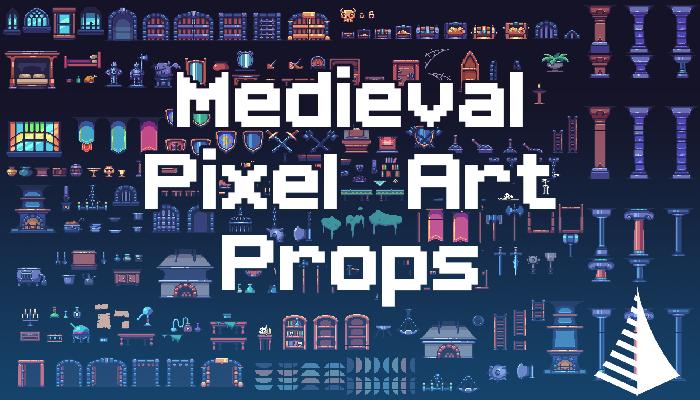Medieval PixelArt Props