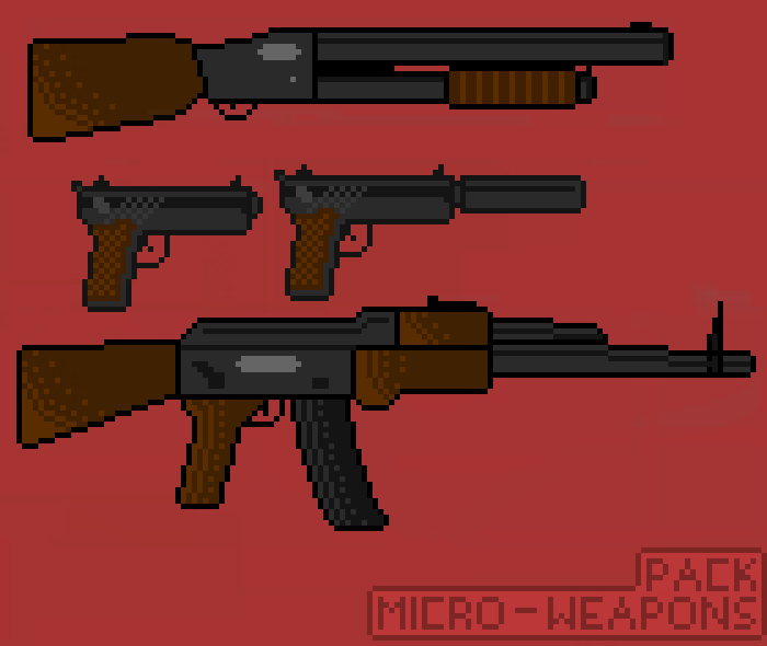 Mini Weapon (Gun) Pack