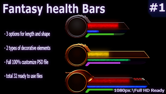 Fantasy health Bars #1