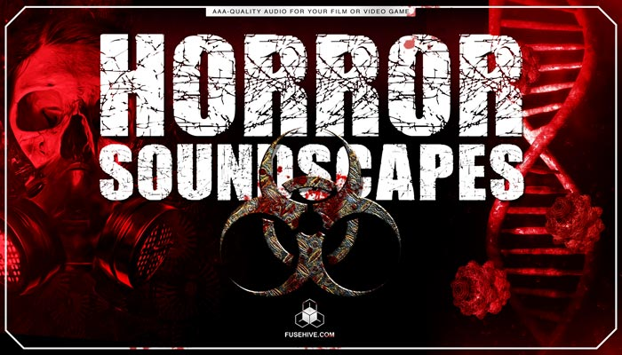 HORROR SOUNDSCAPES – Scary Terrifying Background Environments Royalty Free AAA Sound Effects Library