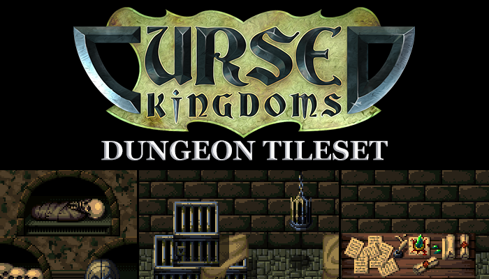 Cursed Kingdoms Dungeon Tileset