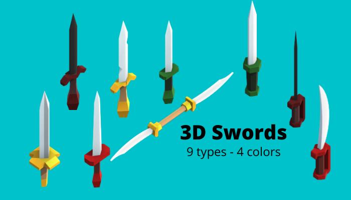 3D Swords