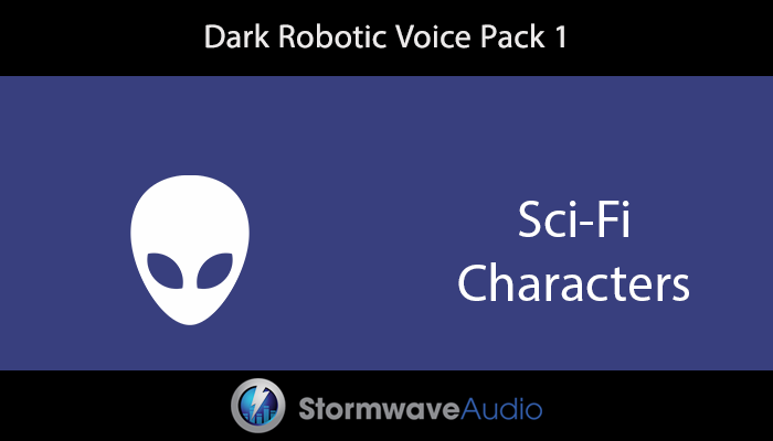 Dark Robotic Voice Pack 1