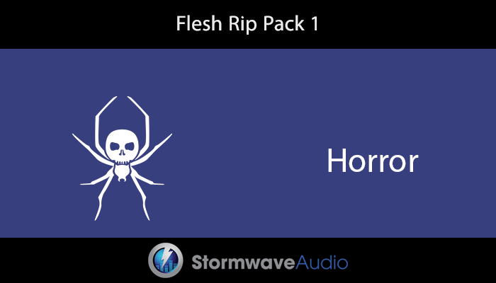 Flesh Rip Sound Effects Pack 1