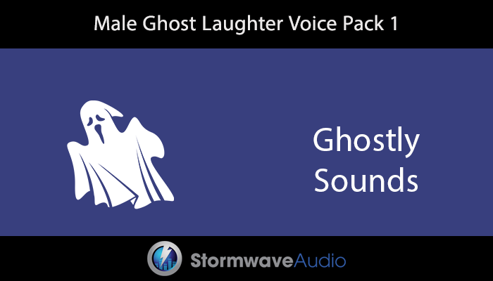 Male Ghost Laughter Voice Pack 1