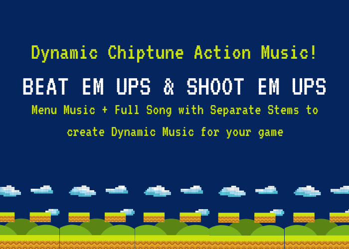 Dynamic 80's Chiptune Action Music 01