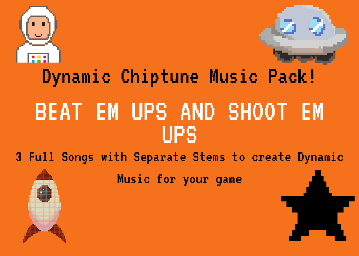 Dynamic 80's Chiptune 3-Song Pack