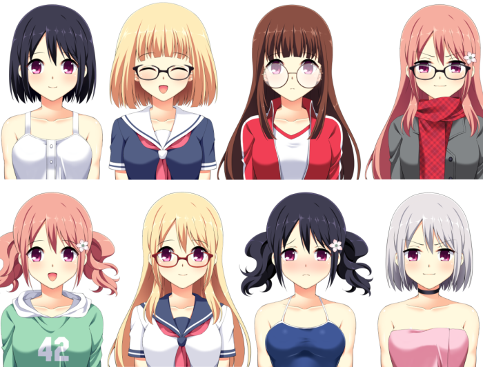 Female Character Sprite