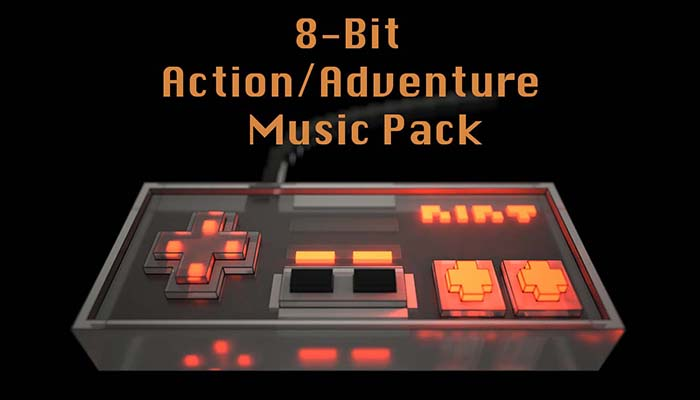 8-bit Music for Action/Adventure