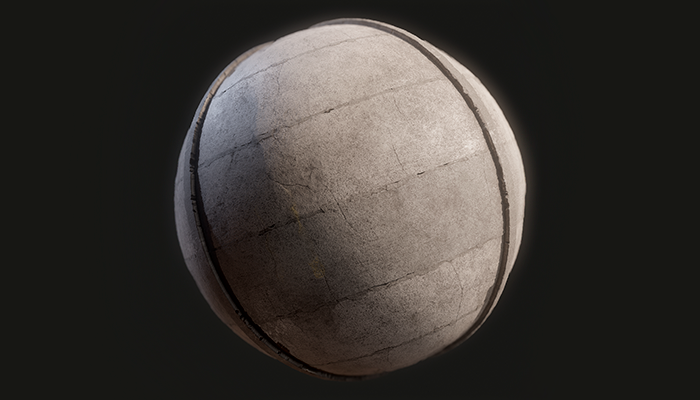 Concrete Fence Substance