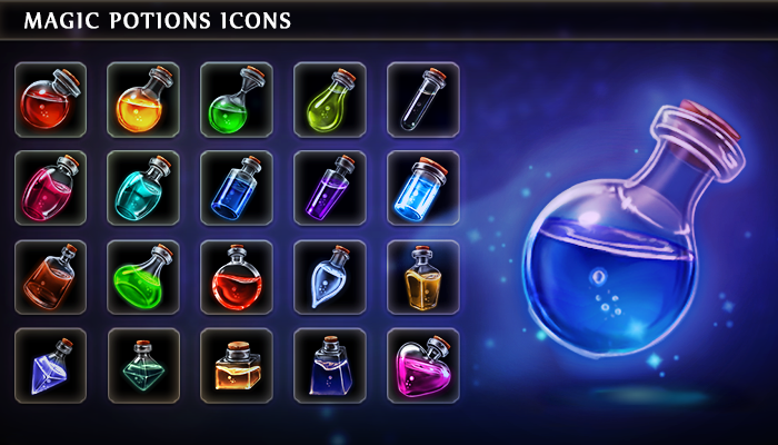 Magic Potions Icons