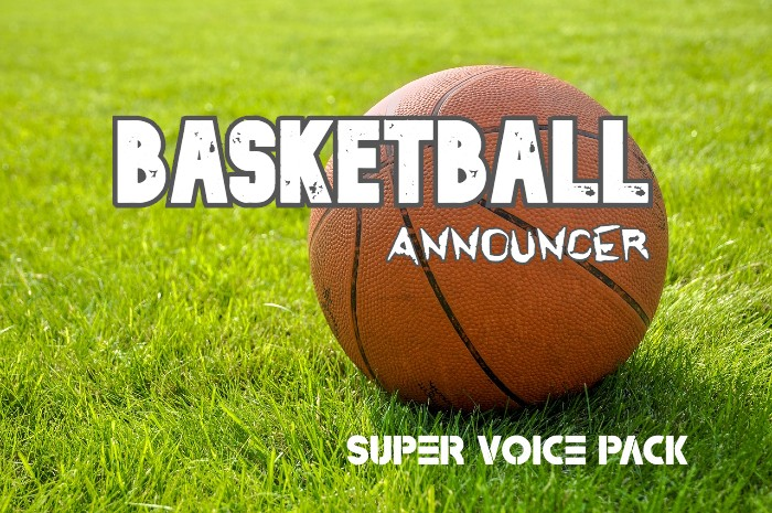 BASKETBALL ANNOUNCER SUPER VOICE PACK