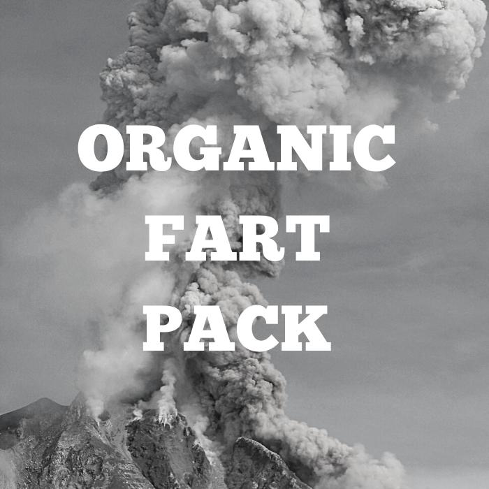 Organic Fart Sample Pack