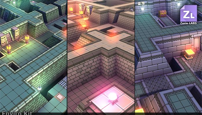 EnviroKit : Retro-Dungeons