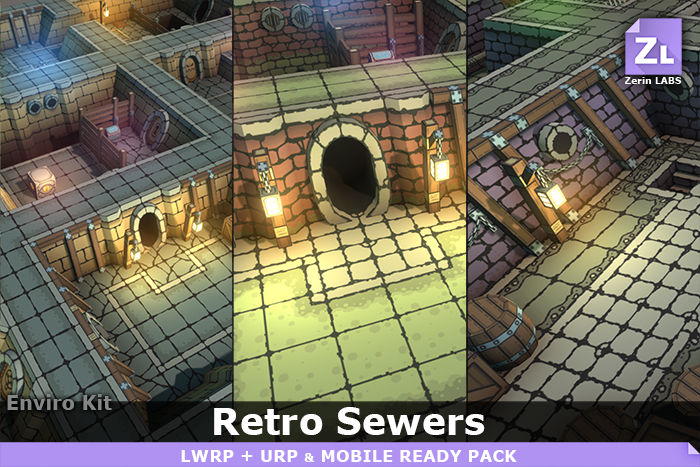 EnviroKit : Retro-Sewers