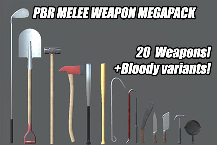 PBR Melee Weapons Megapack