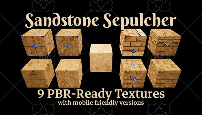 Sandstone Sepulcher Texture Set