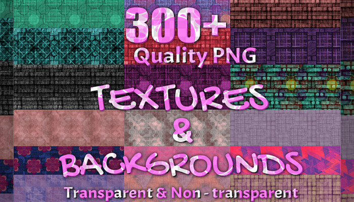 300+ Repeat Background & Texture Package