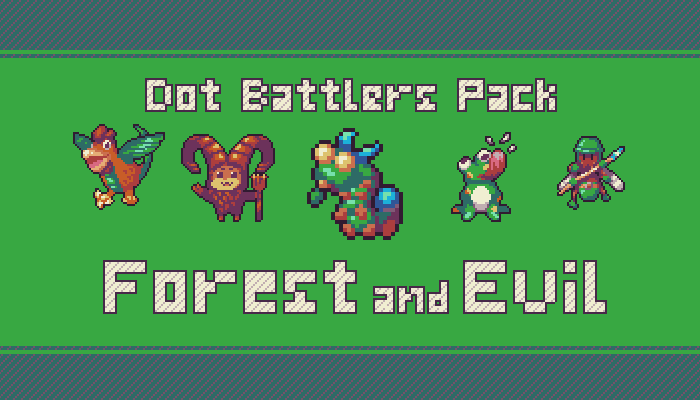 Forest and Evil – Dot Battlers Pack