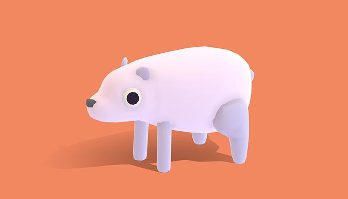Polo the Polar Bear – Quirky Series