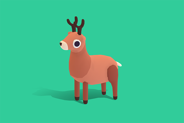 Dash the Reindeer – Quirky Series