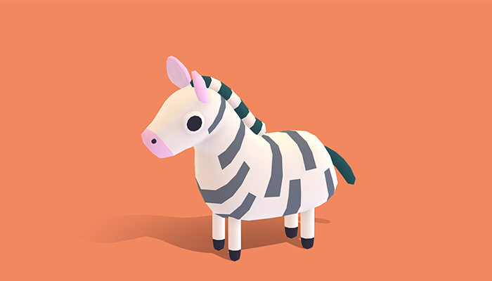 Zek the Zebra – Quirky Series
