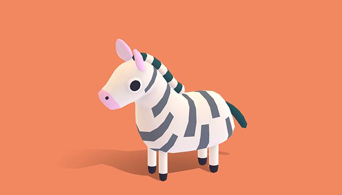 Zek the Zebra – Quirky Series